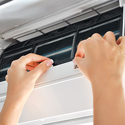 Changing A/C filter